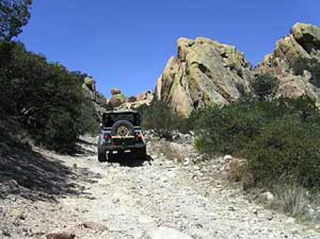 Into The West Jeep Tours